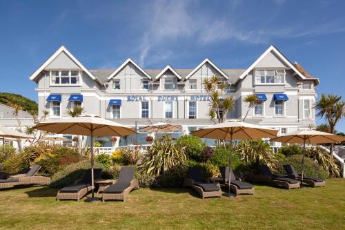 The Royal Duchy Hotel, Falmouth, Cornwall