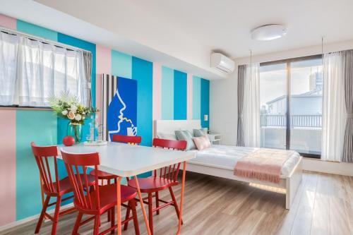 . Ostay Nippori Hotel Apartment (Nishi-Nippori Sta.)