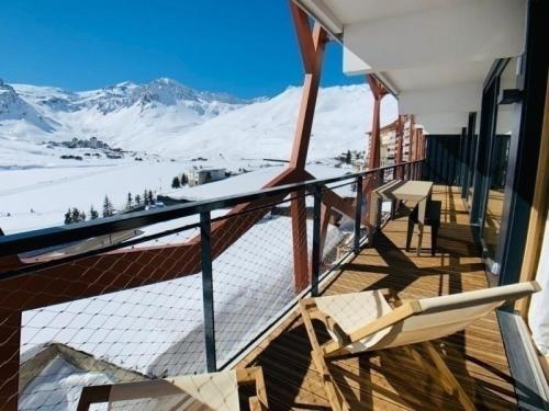 Apartment Phoenix403 exceptionnel et neuf , appartement de luxe de 150 m2 centre tignes le lac-grand balcon plein sud résidence le phoenix 1 Tignes Le Lac