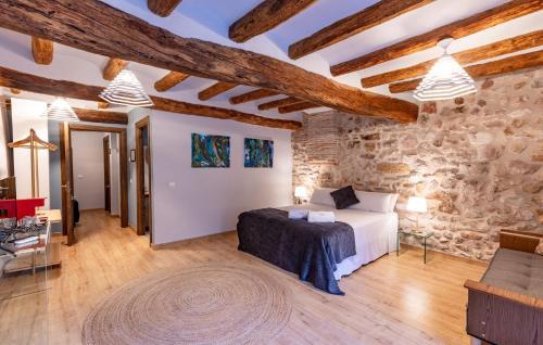 Habitación Triple Confort El Palauet del Priorat 5