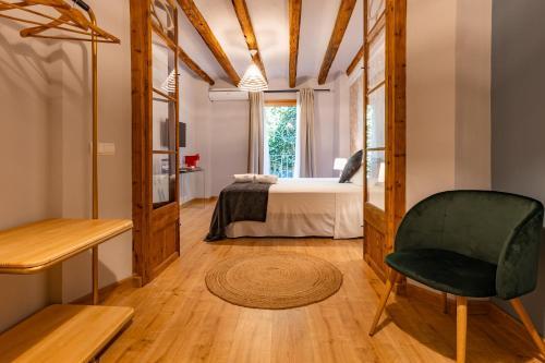 Habitación Deluxe El Palauet del Priorat 11
