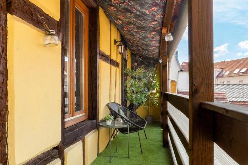 Appartement Pandore - Colmar City Center - Balcony - Location saisonnière - Colmar