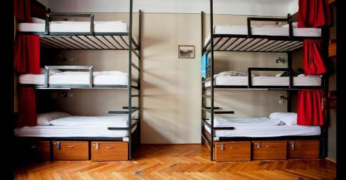 Bed in 6-Bed Mixed Semi Deluxe Dormitory Room