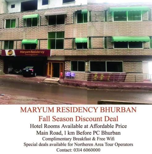 Maryum Residency Bhurban Murree