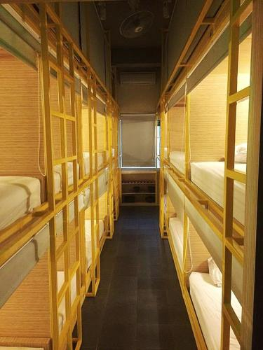 Double Bed Pod in 22-Bed Mixed Dormitory Room