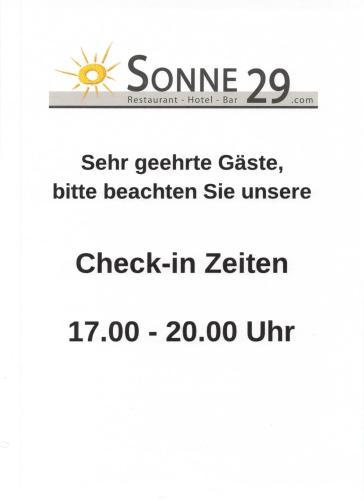 . Hotel Sonne29