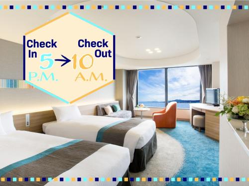 Deluxe Twin Room - Late Check In 17:00 - Check Out 10:00