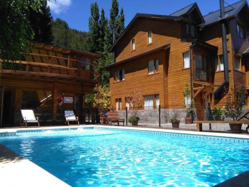Apart Hotel Le Temps Des Cerises - Accommodation - San Martín de los Andes