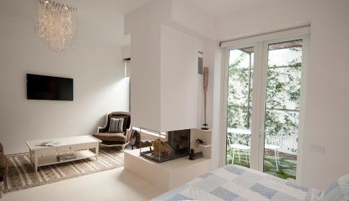 Suite exclusiva con chimenea privada Boutique Hotel Spa Calma Blanca 3