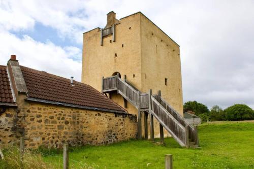 Kasteel-overnachting met je hond in Liberton Tower-Your Private Castle - Edinburgh
