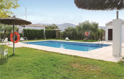 . Amazing home in Puerto Serrano w/ Outdoor swimming pool, Outdoor swimming pool and 2 Bedrooms