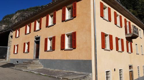 Accommodation in Arvigo