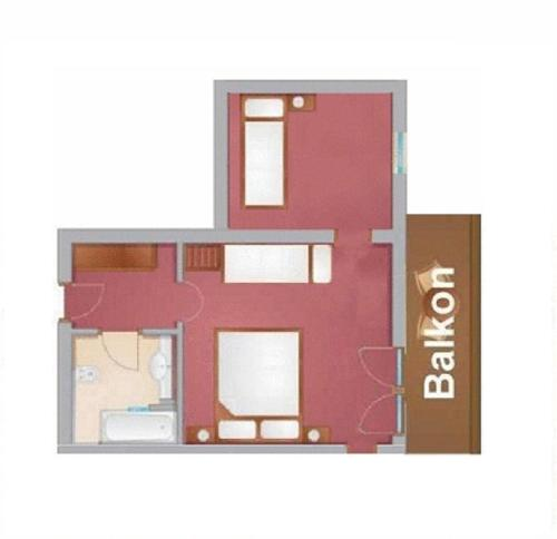 Family Quadruple Room With Balcony