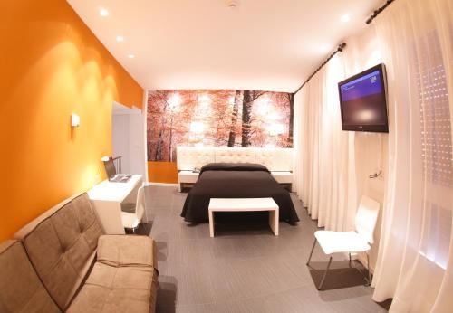 Großes Doppelzimmer - Einzelnutzung Hotel Villa Sonsierra 6