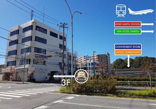 Accommodation in Narita