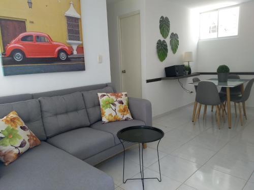 . CH-2- Cómodo apartamento amoblado en condominio