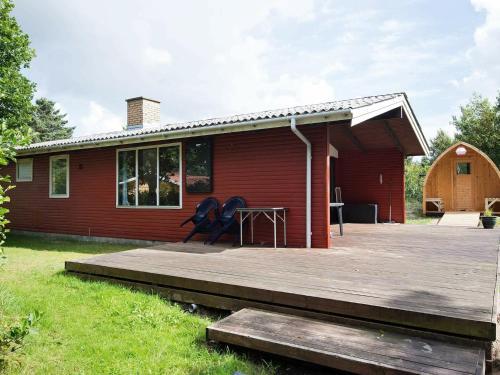 Pretty Holiday Home in à lbæk near Sea, Pension in Ålbæk
