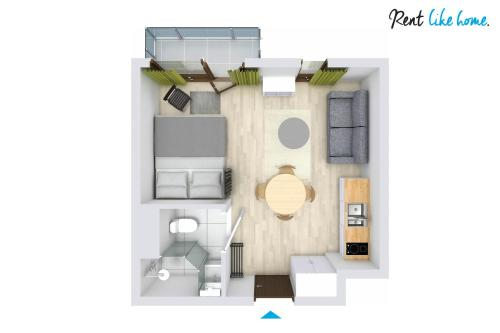 Apartament Estudi (Studio Apartment without Parking )