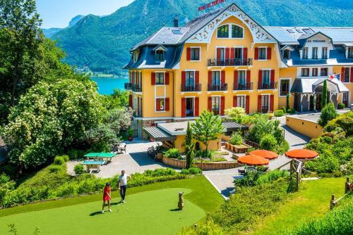 Les Trésoms Lake and Spa Resort - Hôtel - Annecy
