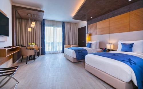 Mövenpick Hotel du Lac Tunis Zimmerfotos