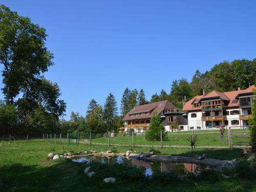 . Modern holiday apartment in the southern Black Forest with terrace and use of sauna