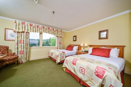 Deluxe Double Room with Two Double Beds - Max 4 People Including Children