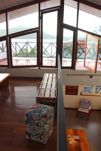 . CASA DINIS - Top terrace view - con vistas a la Bahia de Portobelo