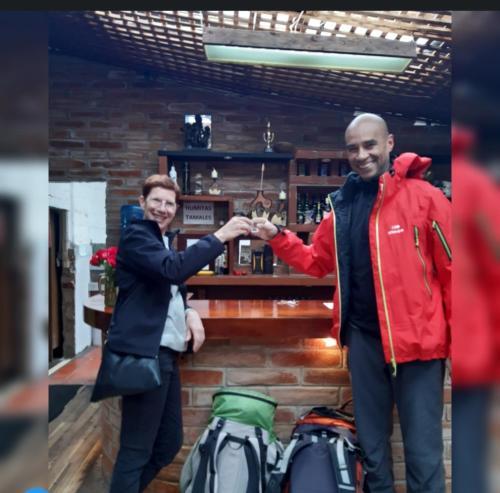 Resultado de imagen para la choza de don wilson papallacta ecuador fotografias