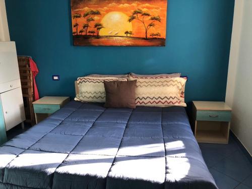 Divano Letto Matrimoniale Singolo.B B Bed Breakfast Situato A 50 Metri Dal Mare Con Giardino E