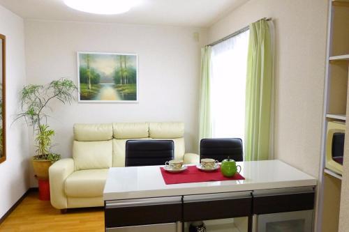 緑に囲まれて滞在 大阪市内に近い部屋