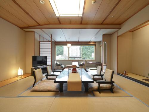 Japanese Style Room with Dinner In Private Room or In Room Dinner Included-Non Smoking