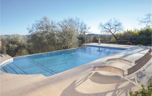 Nice apartment in Saint Cezaire w/ Outdoor swimming pool WiFi and Outdoor swimming pool