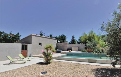 Stunning home in Montfavet w/ Outdoor swimming pool and 3 Bedrooms - Montfavet