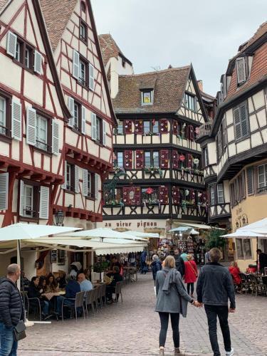 Historical town center spacious flat - Location saisonnière - Colmar