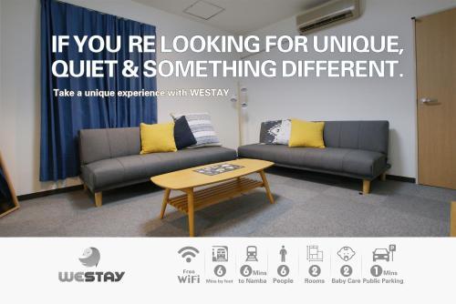 Westay Designers House/6 mins to Shinsaibashi102