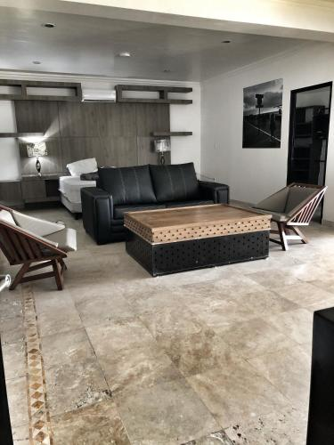 Master Suite with large dining room and