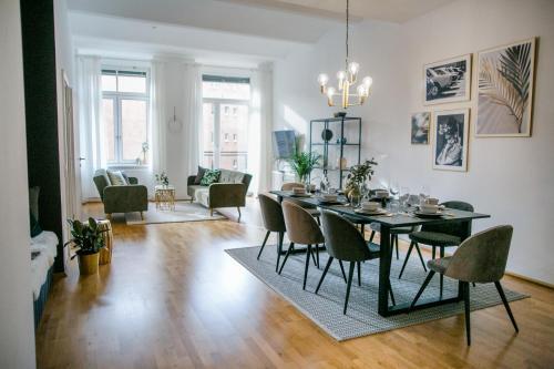 Luxus Apartment Hauptplatz, WLAN, Küche, Hotel in Linz