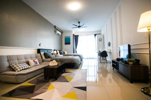 White Minimalist Studio @ Twin Galaxy Residences, Johor Bahru