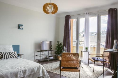. Sleep in Rodez Appartement Le Rétro-Vintage Centre Historique-Vieux Rodez