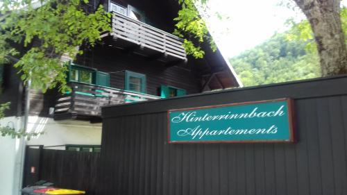 . Hinterrinnbach Appartments