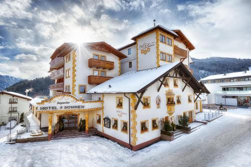 Hotel 3 Sonnen Serfaus