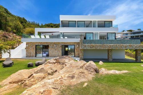 Villa Eugenie: Luxury 5BDR, Sea View, Ko Samui Villa Eugenie: Luxury 5BDR, Sea View, Ko Samui