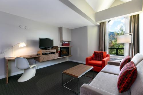 Village View Loft Suite with Balcony