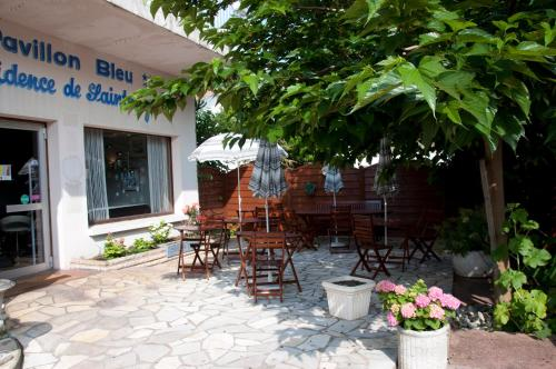 Hotel-overnachting met je hond in Le Pavillon Bleu Hotel Restaurant - Royan