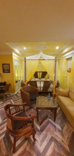 Habitación Doble con bañera de hidromasaje Casona Camino Real De Selores 3