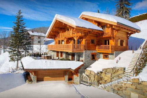 Alpine chalet with spa gym & beautiful views near slopes - OVO Network - Chalet - La Clusaz