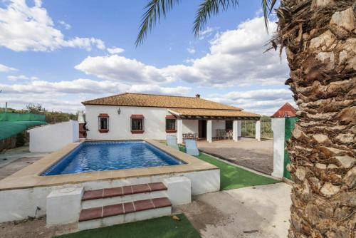 . Villa with 4 bedrooms in Cordoba with wonderful mountain view private pool furnished garden 180 km from the beach