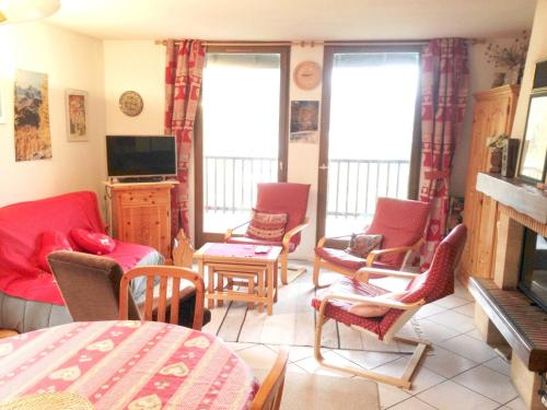 . Apartment with 4 bedrooms in Le Monêtier-les-Bains, with wonderful mountain view, furnished balcony and WiFi