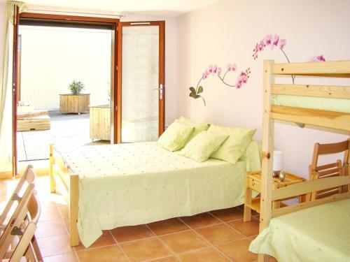 Appartement d'une chambre a Fayet avec magnifique vue sur la montagne jardin clos et WiFi a 84 km de la plage - Apartment - Fayet