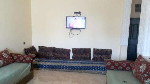. Apartment with 2 bedrooms in Meknes with wonderful city view balcony and WiFi 140 km from the beach